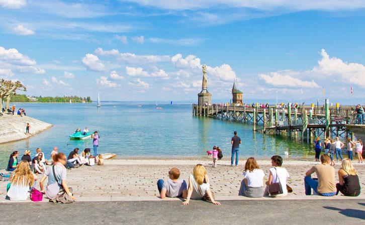 Rundfahrt durch die Konstanzer Bucht mit der Möwe (4. Mai 2013)